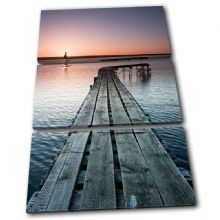 Jetty Lake Sunset Seascape - 13-0289(00B)-TR32-PO